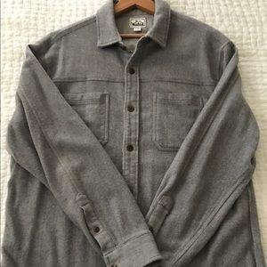 Men's Woolrich wool shirt jacket